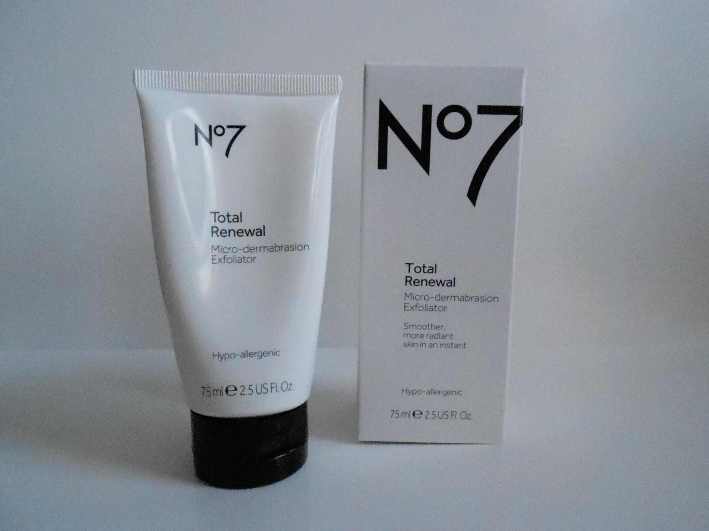 Review: Boots No. 7 Total Renewal (Facial Scrub) – Tricia Clarke ...