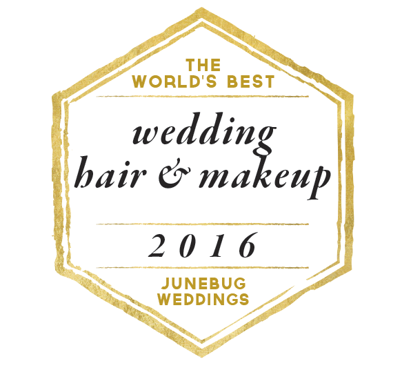 Tricia Clarke Makeup as featured on Junebug Weddings